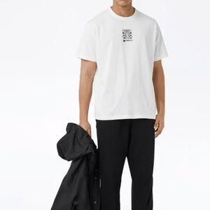 Burberry oversized montage print T-shirt size XL